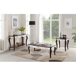 Darby Home Co Daxten 3 Piece Coffee Table Set