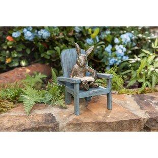 Reading Rabbit Garden Statue Wayfair