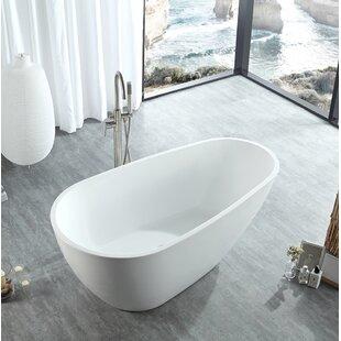 Eisen Home Poseidon Freestanding Soaking Bathtub