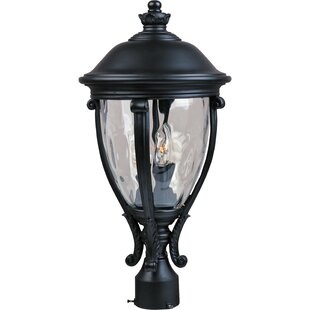 Astoria Grand Singhai Outdoor 3-Light Lantern Head