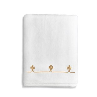Lattice 100% Cotton Bath Towel