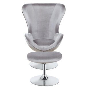 Dansby Swivel Armchair and Ottoman