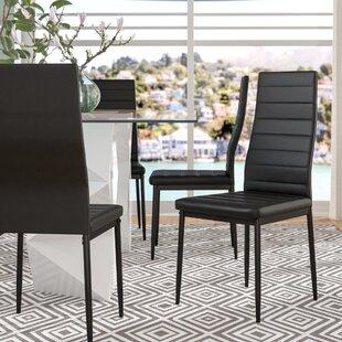 Raze Modern Upholstered Dining Chair Set Of 4