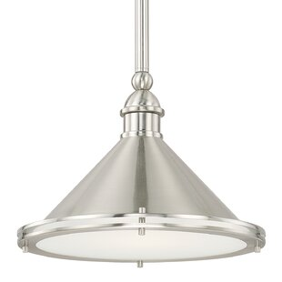 Chet 1-Light Bowl Pendant ..