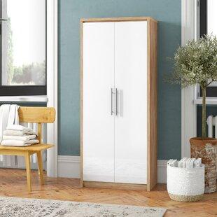 2 Door Wardrobe By 17 Stories