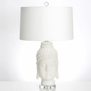 Affordable Frosted Buddha 30 Table Lamp By Couture, Inc.