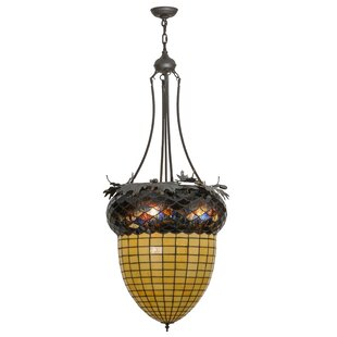 Meyda Tiffany 3-Light Urn Pendant