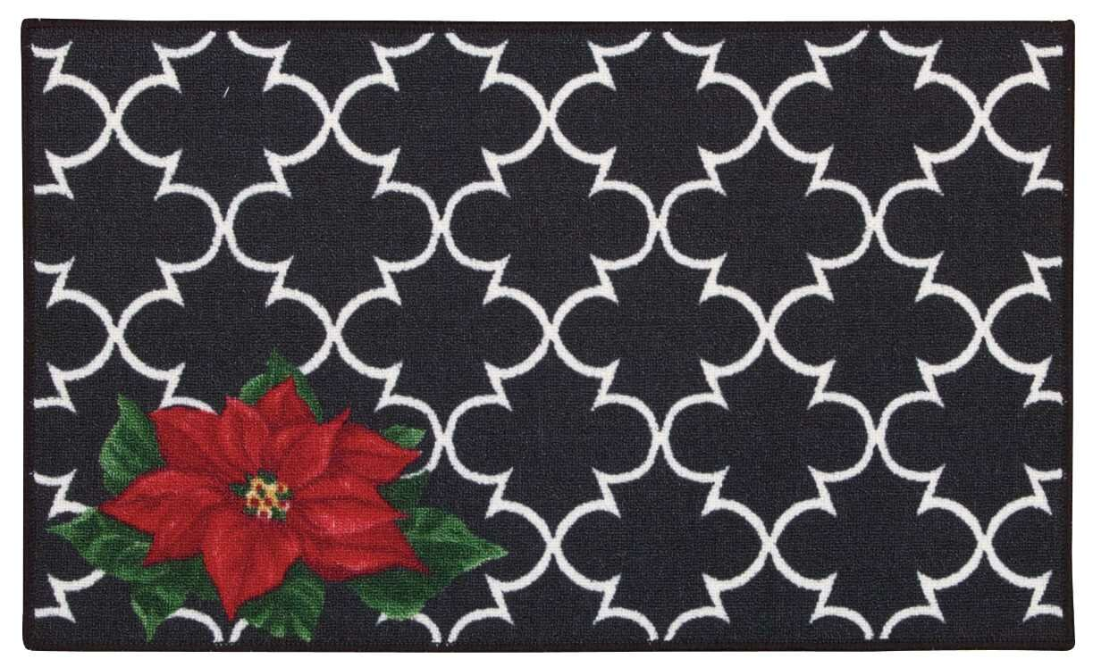 Charlton Home Deveau Black Red Area Rug Reviews Wayfair