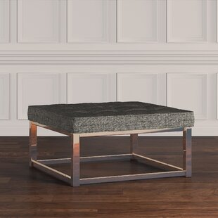 Gilham Tufted Ottoman by House of Hampton