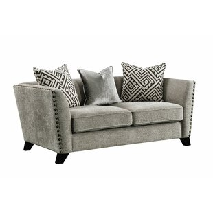 Arnette Sofa w/4 Pillows by Canora Grey