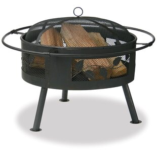 Blue Rhino Uniflame Steel Wood Burning Fi..