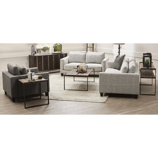 Millwood Pines Thames 3 Piece Coffee Table Set