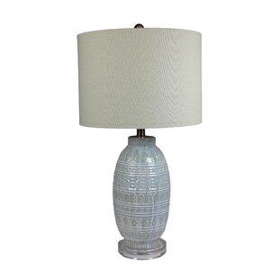 Belle Isle Glazed 27 Table Lamp
