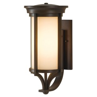 Tiffany 1 Light Outdoor Sconce