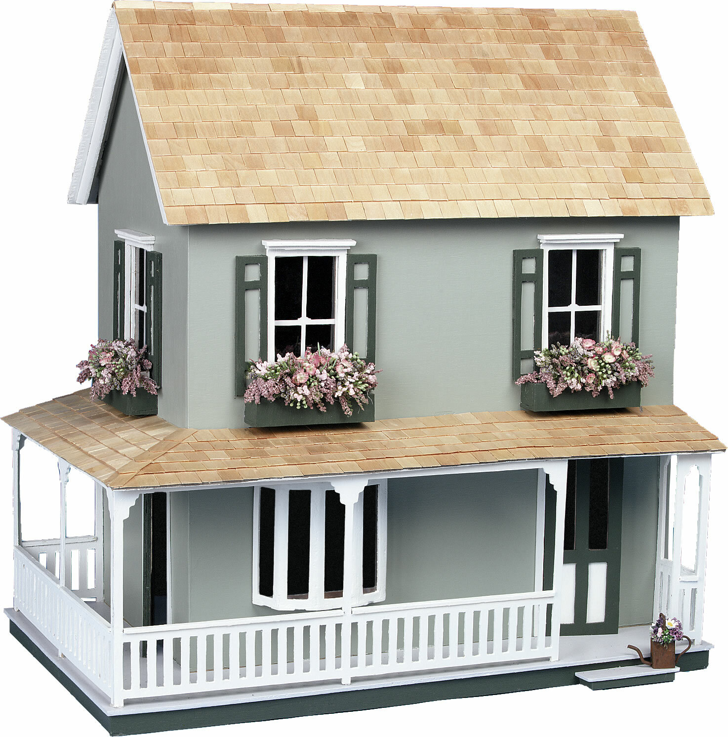 Greenleaf Dollhouses Dollhouse Laurel Kit Reviews Wayfair