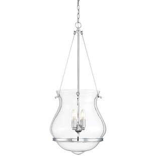 Alcott Hill Loughran 4-Light Bowl Pendant