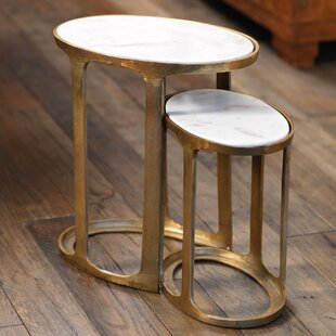 Purchase Sherer 2 Piece Nesting Tables By Mercury Row