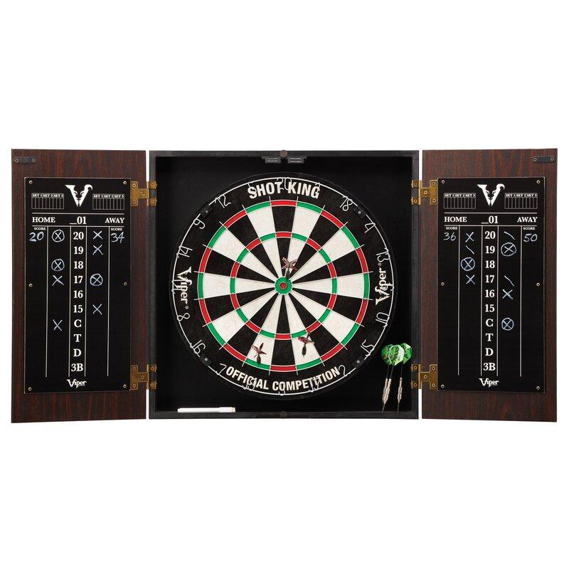 Stadium Dartboard and Cabinet Set - Viper Stadium Dartboard And Cabinet Set & Reviews Wayfair