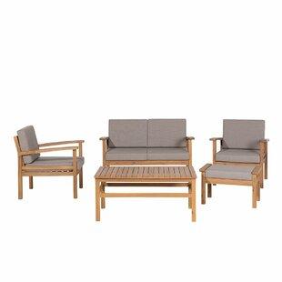 Bay Isle Home Rattan Sectional Sofa Sets