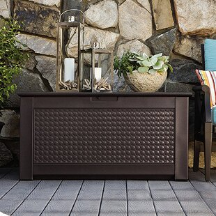 Rubbermaid Patio Chic™ 93 Gallon Resin Deck Box
