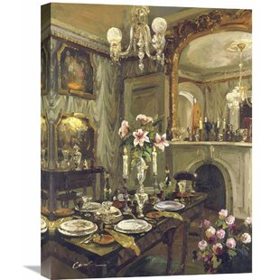The Dining Roomu0027 By Foxwell Painting On Wrapped Canvas
