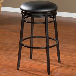 Lafferty 26 Swivel Bar Stool Red Barrel Studio