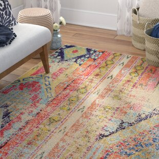 Compare Newburyport Beige/Orange Area Rug By Mistana