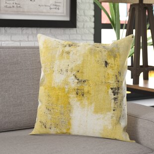 Bloodworth Urban Decay with Bone Velvet Back Throw Pillow