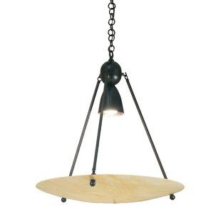 Meyda Tiffany Revival Iridescent Deco Ball 1-Light Bowl Pendant
