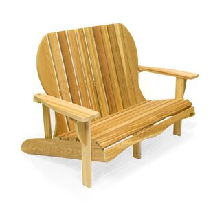 All Things Cedar Western Red Cedar Solid Wood Adirondack Chair