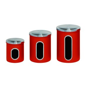 Nested 3 Piece Kitchen Canister Set