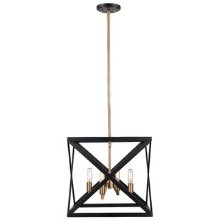 Brayden Studio Tanksley 5-Light Square/Rectangle Chandelier