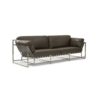 Bargain Samara Leather Sofa by Foundry Select Reviews (2019) & Buyer's Guide