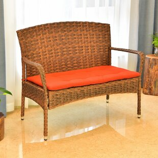 Phenomenal Konen Resin Wicker Park Bench Camellatalisay Diy Chair Ideas Camellatalisaycom