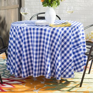 Camping and Picnic 100/% Polyester Water Repellent Tablecloth with Fun RV and Trailer Pattern