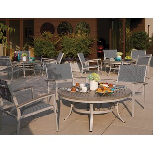Latitude Run Farmington 5 Piece Conversation Set with Cushions