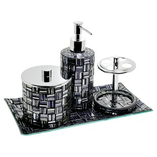 Silver Bathroom Accessories Youll Love Wayfaircouk