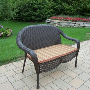 Rosecliff Heights Kingsmill Loveseat with Cushion