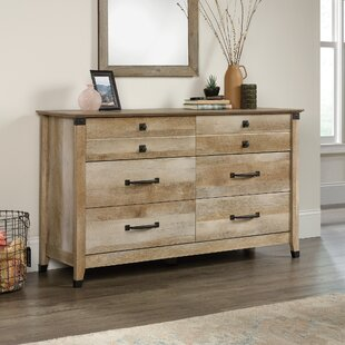 Pauling 6 Drawer Double Dresser by Union Rustic