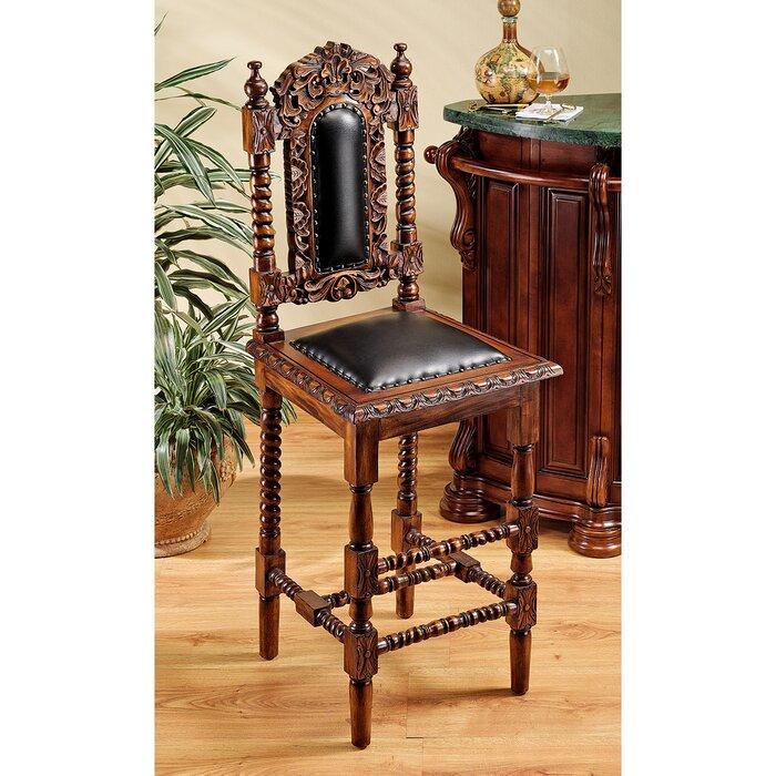 Awe Inspiring Charles Ii Gothic 31 Bar Stool Creativecarmelina Interior Chair Design Creativecarmelinacom