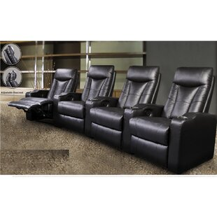 Wildon Home ® St. Helena Home Theater Row Seating (Row of 4)