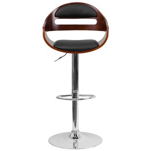 Bain Adjustable Height Swivel Bar Stool
