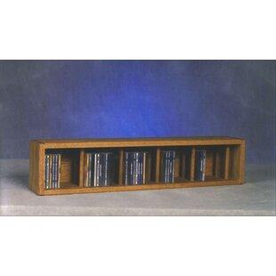 67 CD Multimedia Tabletop Storage Rack By Rebrilliant