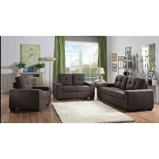Gillock 3 Piece Living Room Set