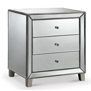 Price Check Brookland 3 Drawer Nightstand by Everly Quinn