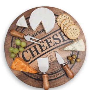 4 Piece Cheese Board Set by Final Touch