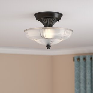Biwabik 3-Light Semi Flush Mount by Astoria Grand