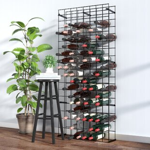 Tie Grid 144 Bottle Floor Wine Rack by Re..