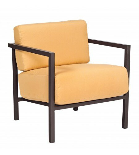 Woodard Salona Stationary Patio Chair With Cushions Wayfair