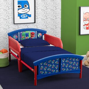 PJ Masks Plastic Toddler Platform Bed by Delta Children